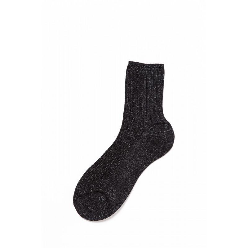 N.046 Perforated Lurex Woman Socks