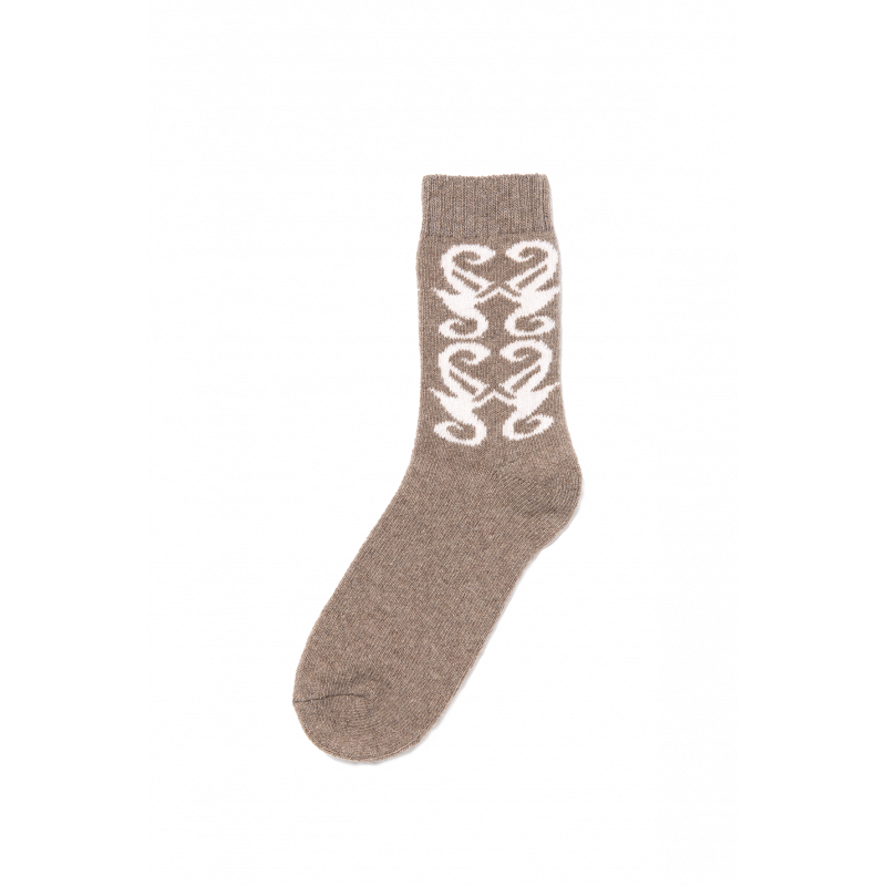 Stream Recycled CashmereShort Socks