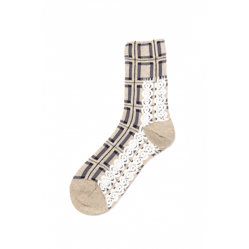 Geneve Elasticized Cotton Short Socks