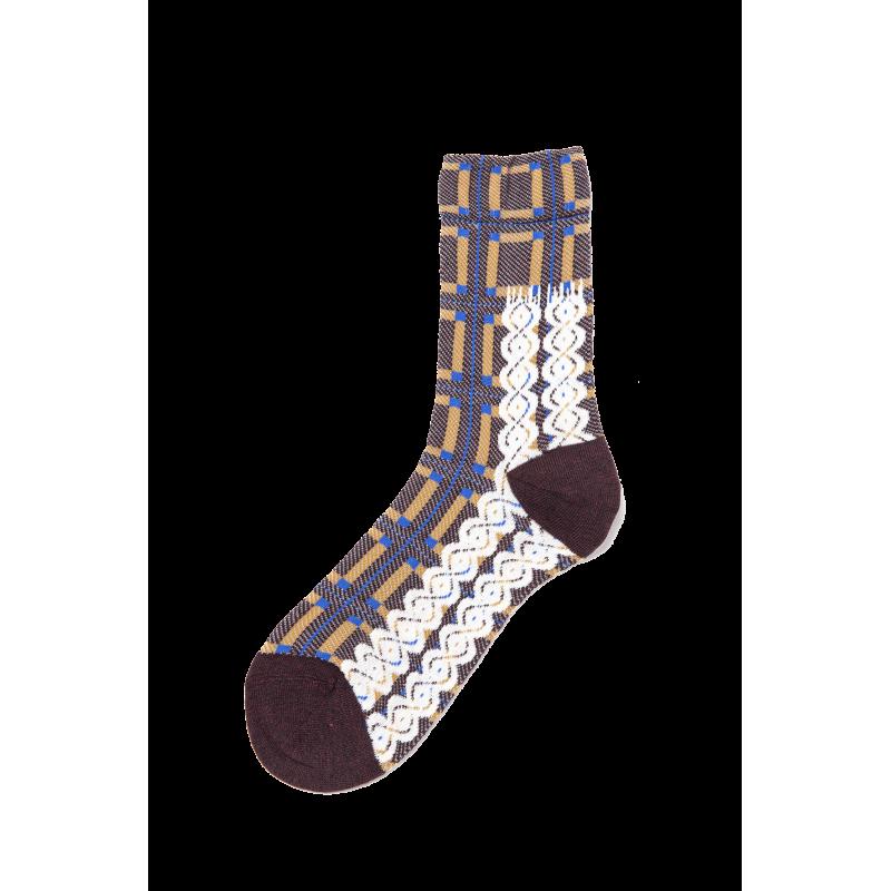 Geneve Elasticized Cotton Short Socks