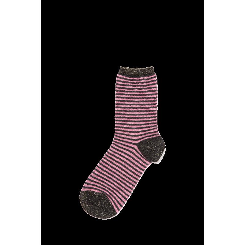Gemma Mohair, Viscose and Wool Short Socks