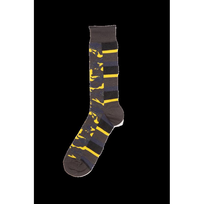 Patton Fancy Wool Short Socks