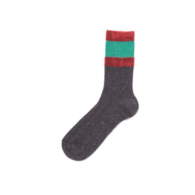 Jayla Coloured Cuff Socks