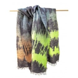 Dione Scarf hand painted