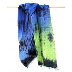 Carlotta Scarf hand painted