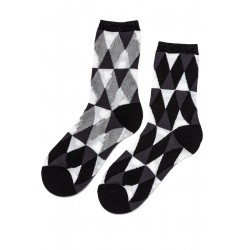 Dione Short Rhombs Socks