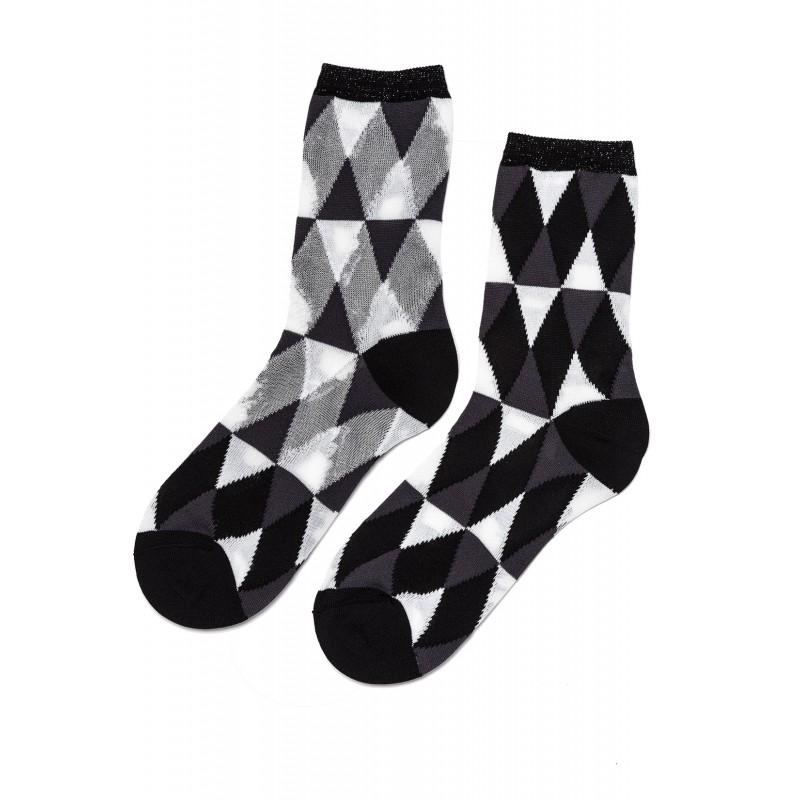 Dione Short Rhombs Socks