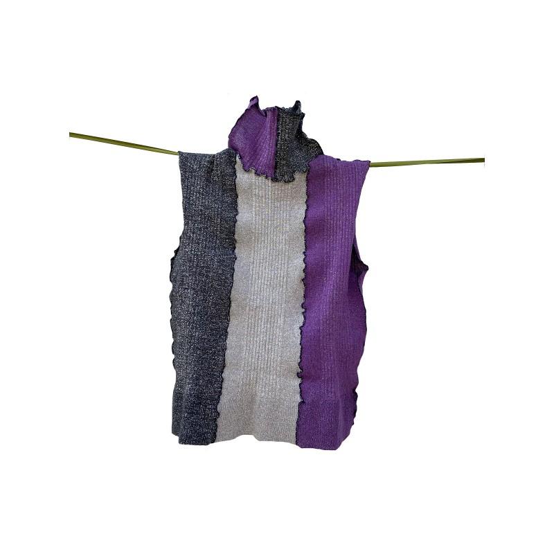 Brigid Woman Lurex Shirt
