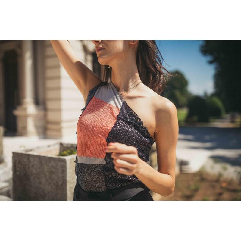Creta Woman Lurex Shirt