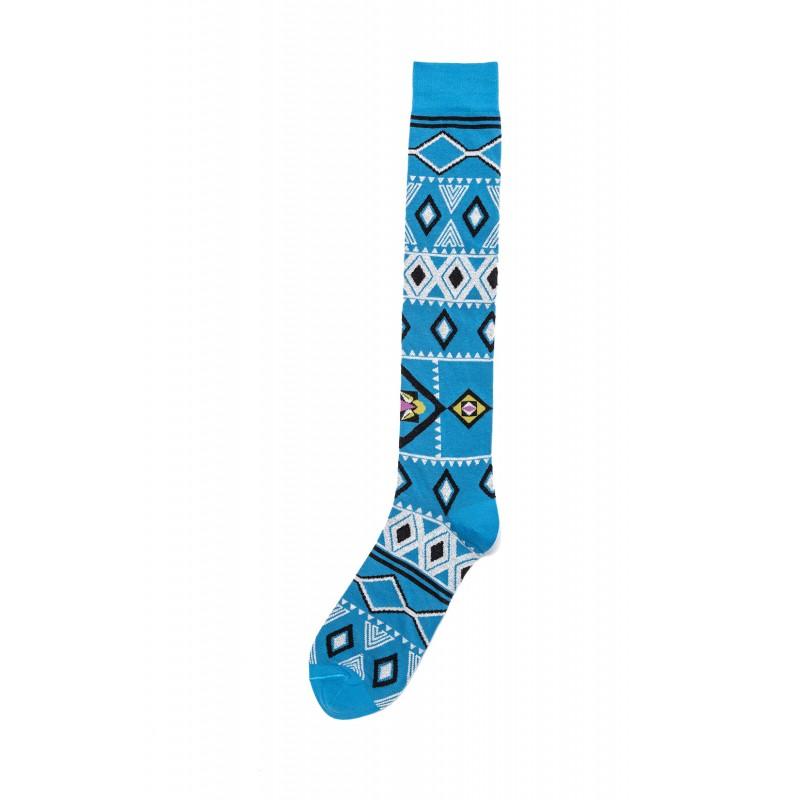 Lopez Geometric Fantasy Long Socks