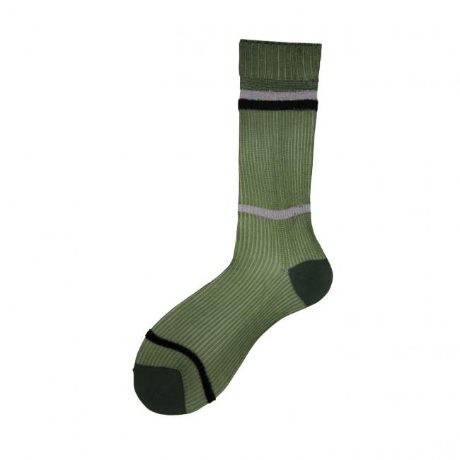 Short Socks with Rib...