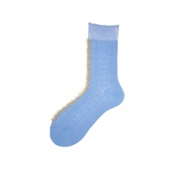 Short Socks with Detail in...