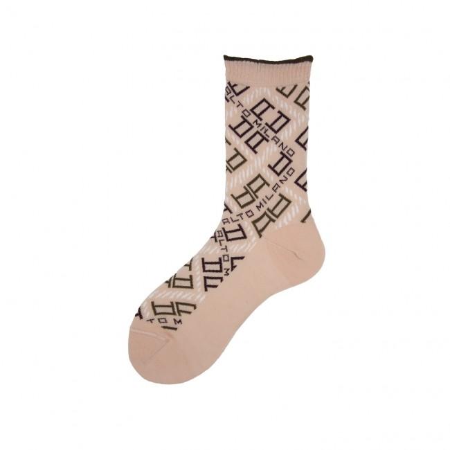 Short Socks with Logo Over...