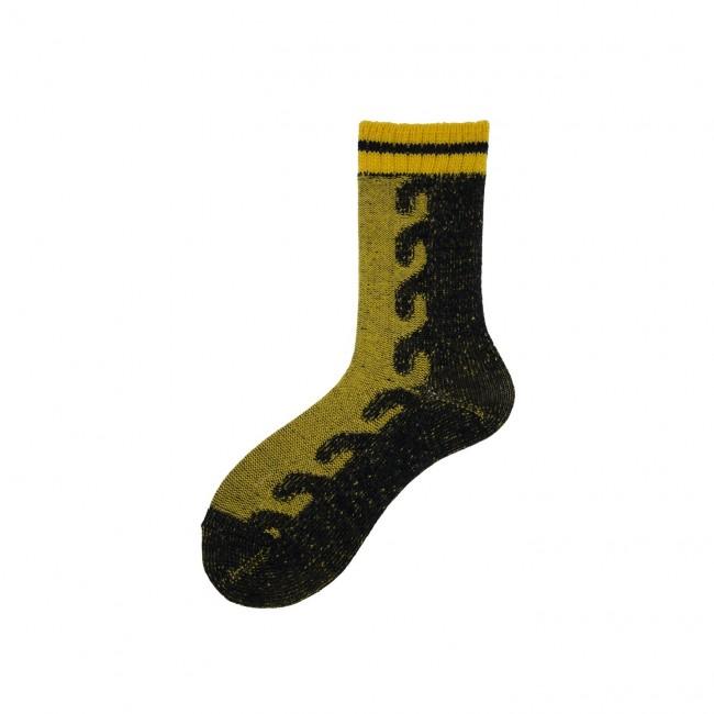 Short Socks with Braid in...