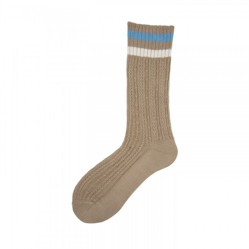 Short Socks with Manufacture in Cotton Bunch