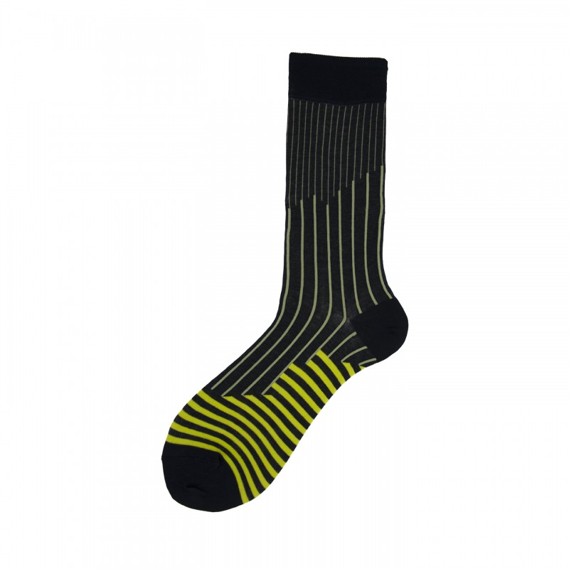 Short Socks in Cotton with Stripes Hobbs