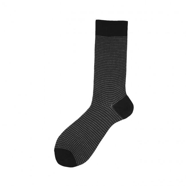 Short Socks with Jacquard...